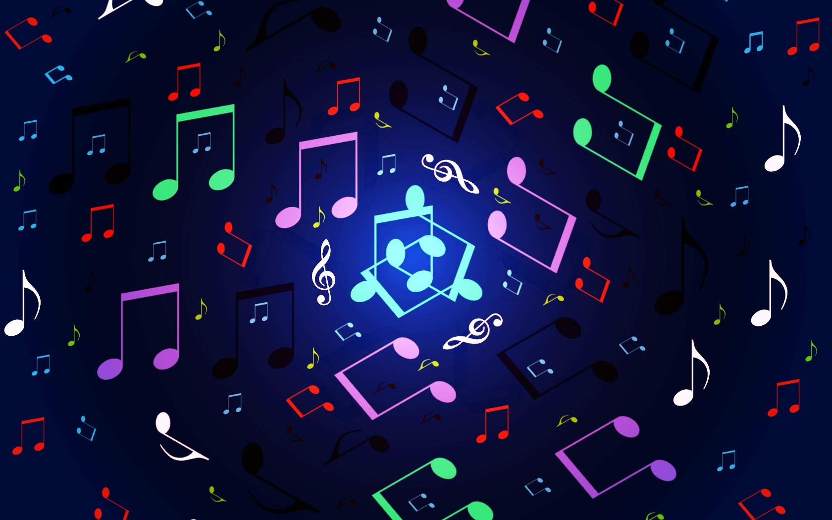 Rainbow Music Notes Background Hd Wallpaper Background Images: Music Note Wallpaper