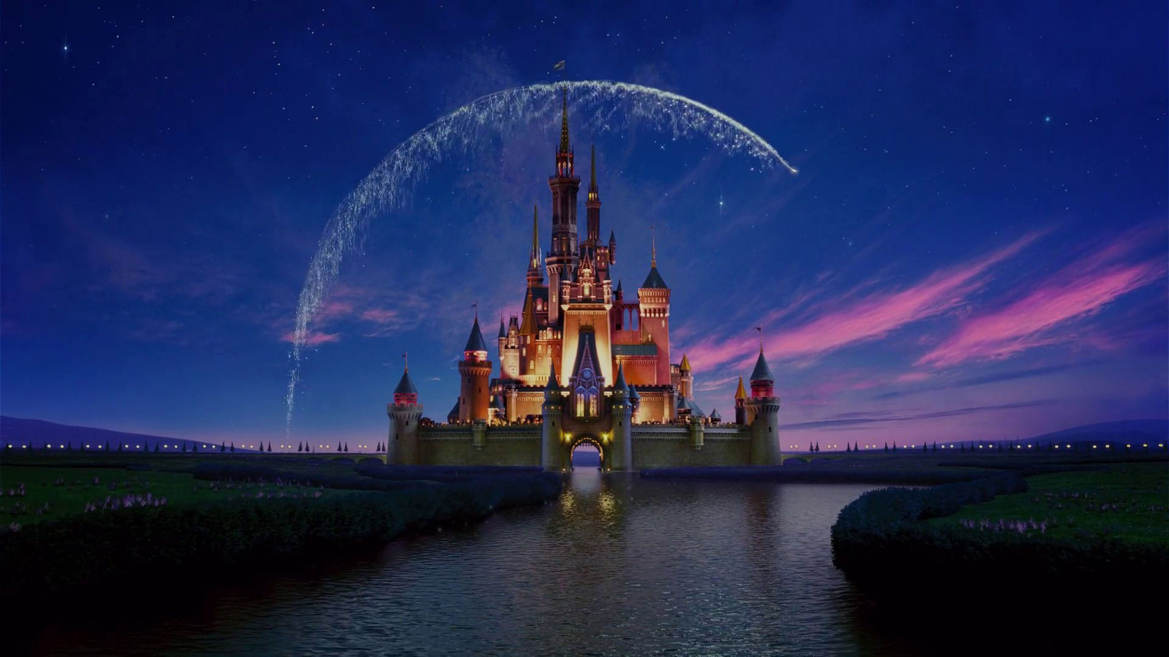 Wallpapers For Walt Disney Castle Background 3840x2160