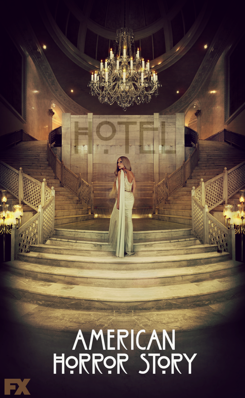 American Horror Story   Hotel Lady Gaga by Panchecco 1024x1659