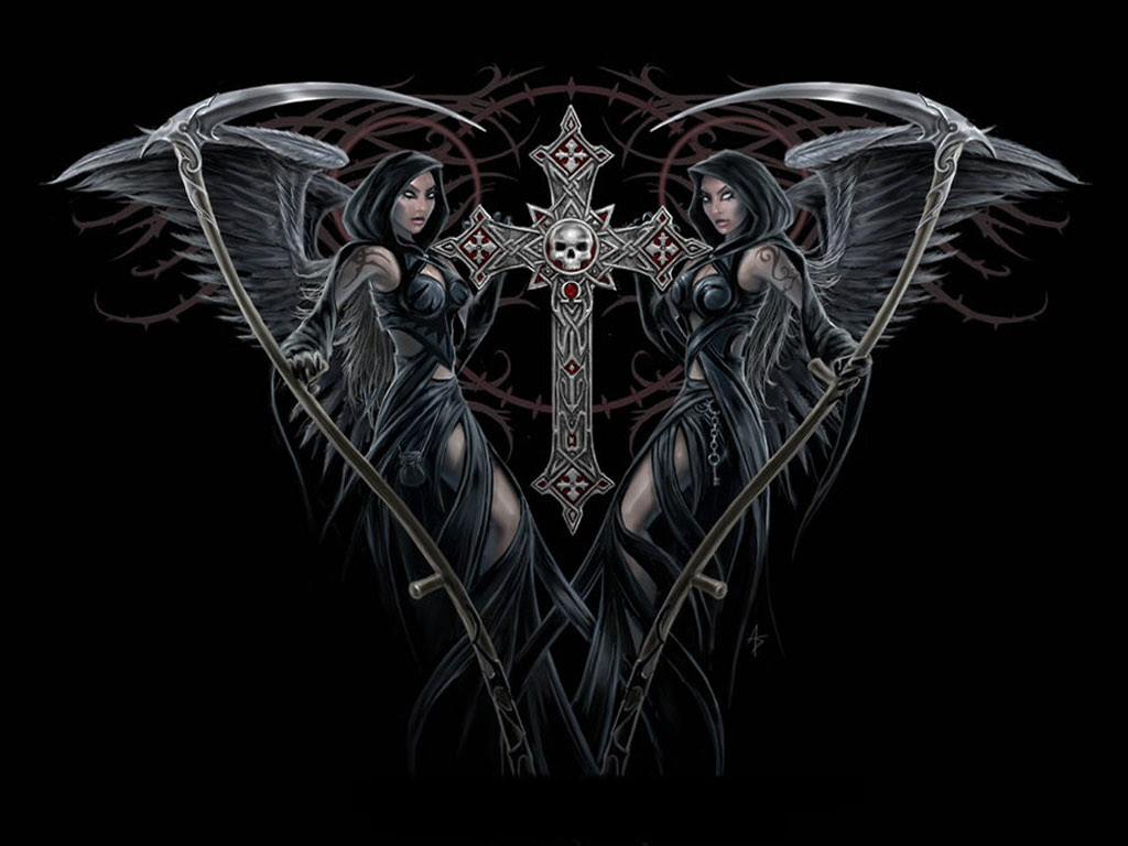 Wallpapers Images Photos Picpile Gothic Girls Wallpapers 1024x768