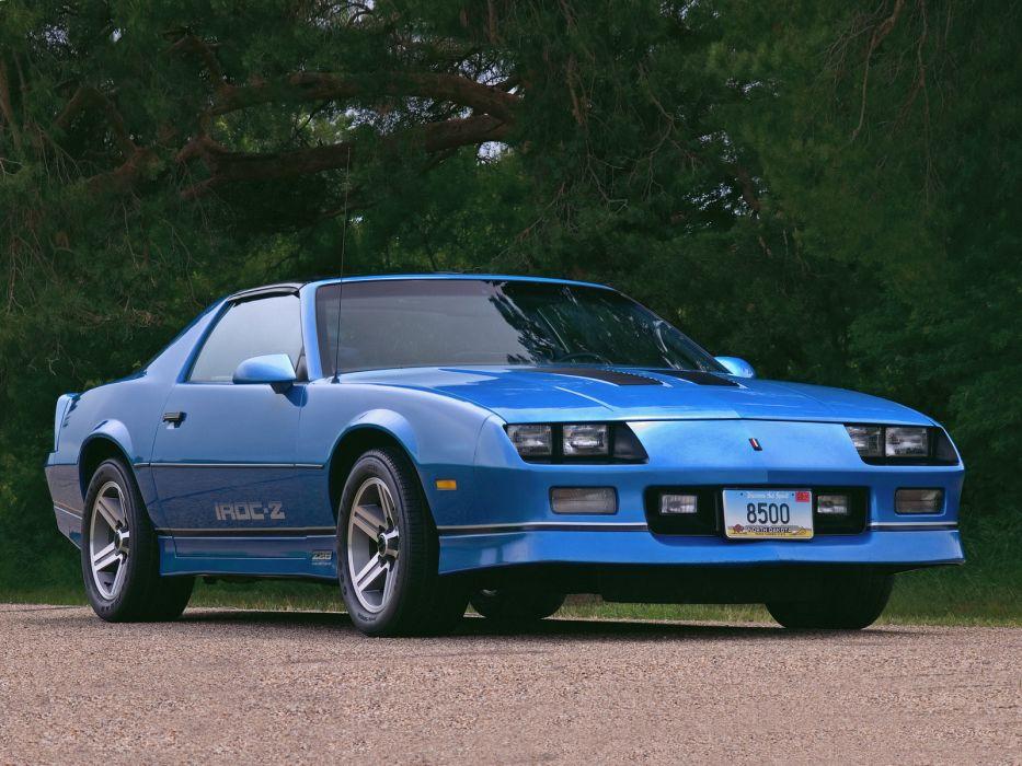 1985 Chevrolet Camaro Z28 IROC Z muscle classic wallpaper 933x700