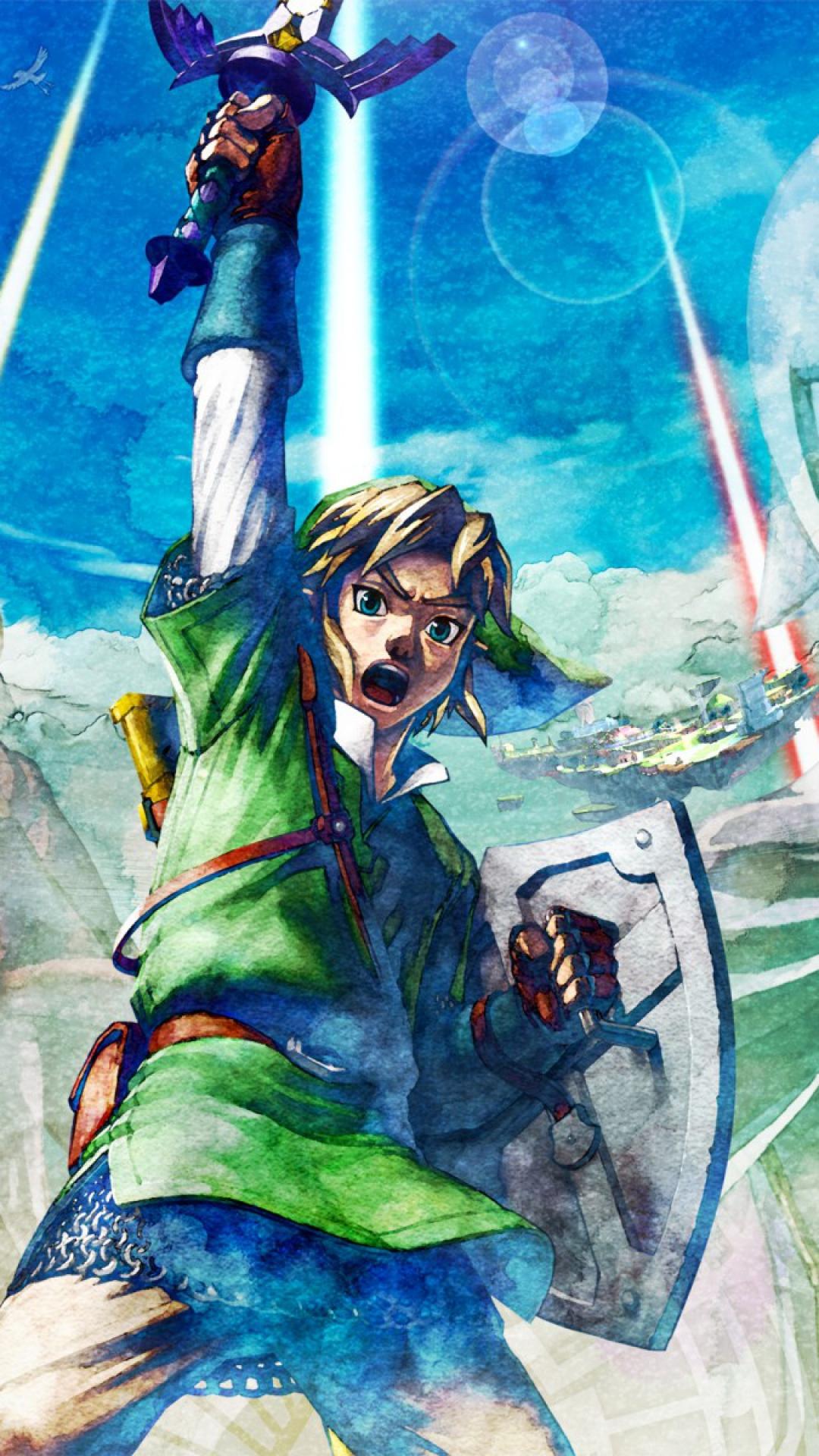 77+ Zelda Phone Wallpaper on WallpaperSafari