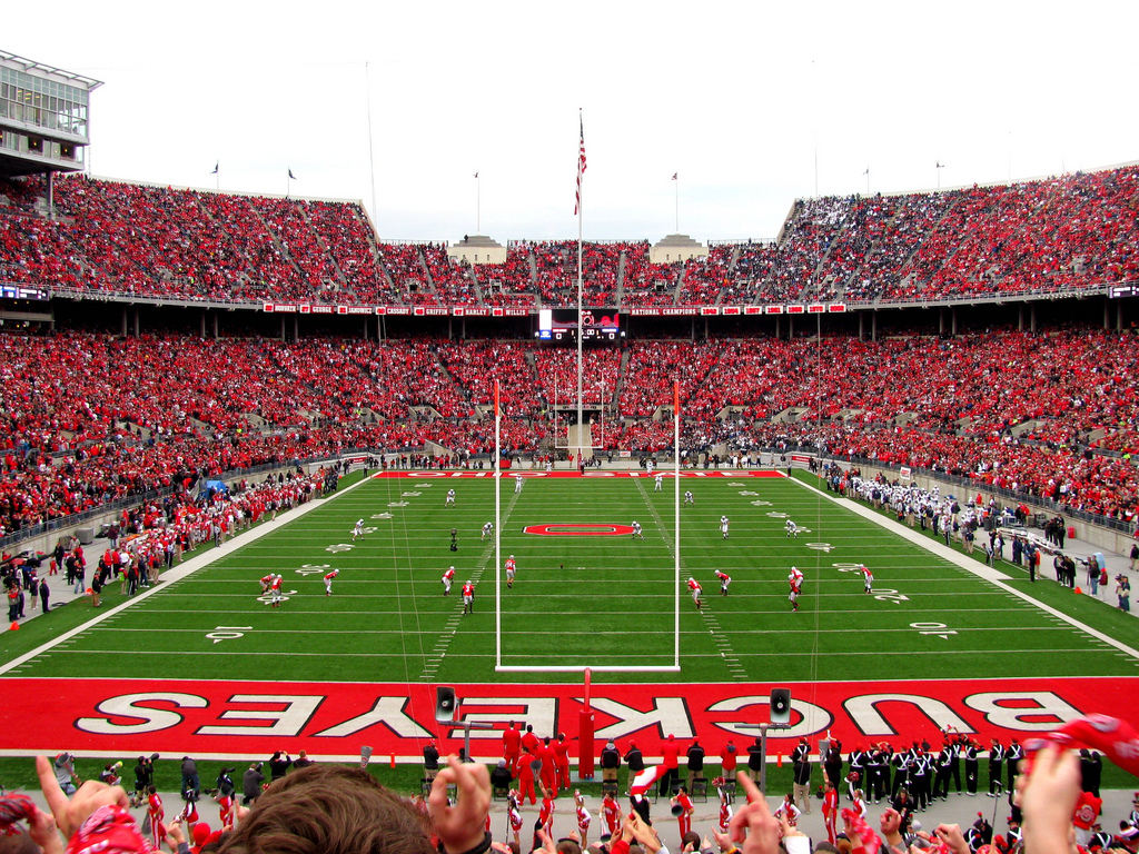 Ohio State Football Stadium Wallpaper 1024x768