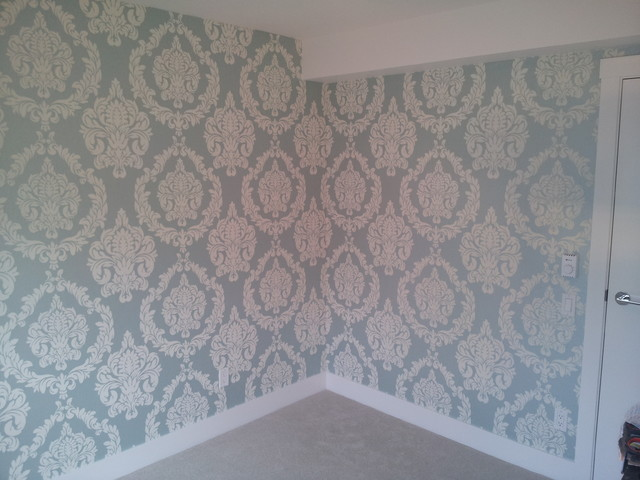 Wallpaper Installations Vancouver 2014   Contemporary   Bedroom 640x480