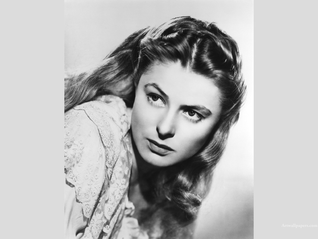Ingrid Bergman Wallpapers Posters Photos Desktop Wallpaper 1024x768