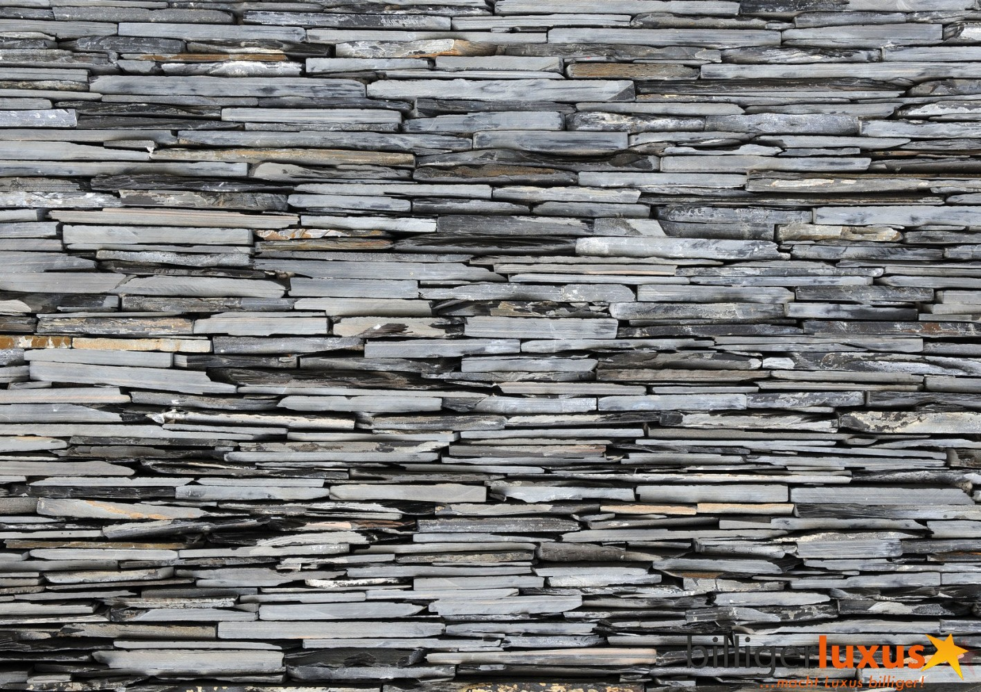 Wall mural wallpaper stone wall stones grey photo 360 cm x 254 cm 3 1417x1000