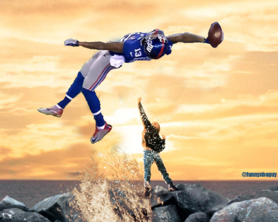 570 x 455 358 kB png Odell Beckham Jr Catches Hall Of Fame Meme 570x455