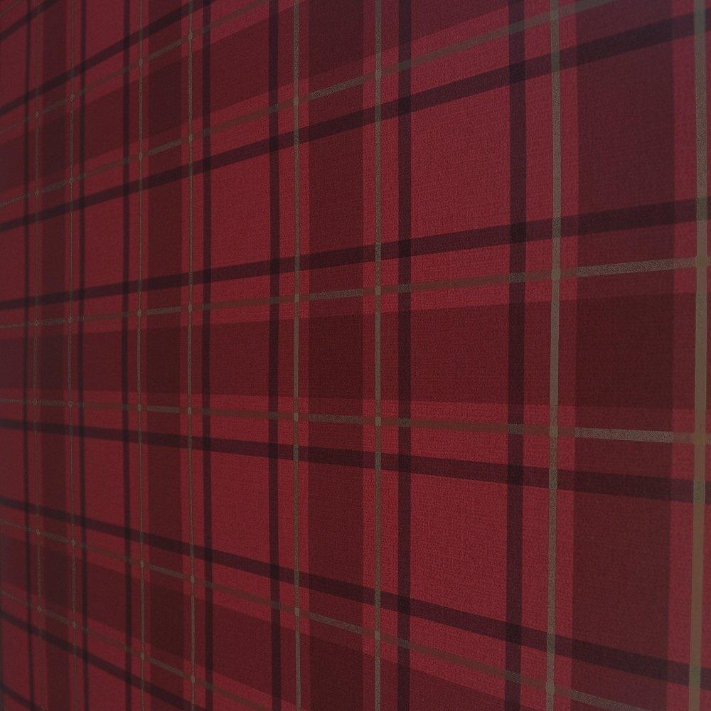 Red Plaid Wallpaper - WallpaperSafari