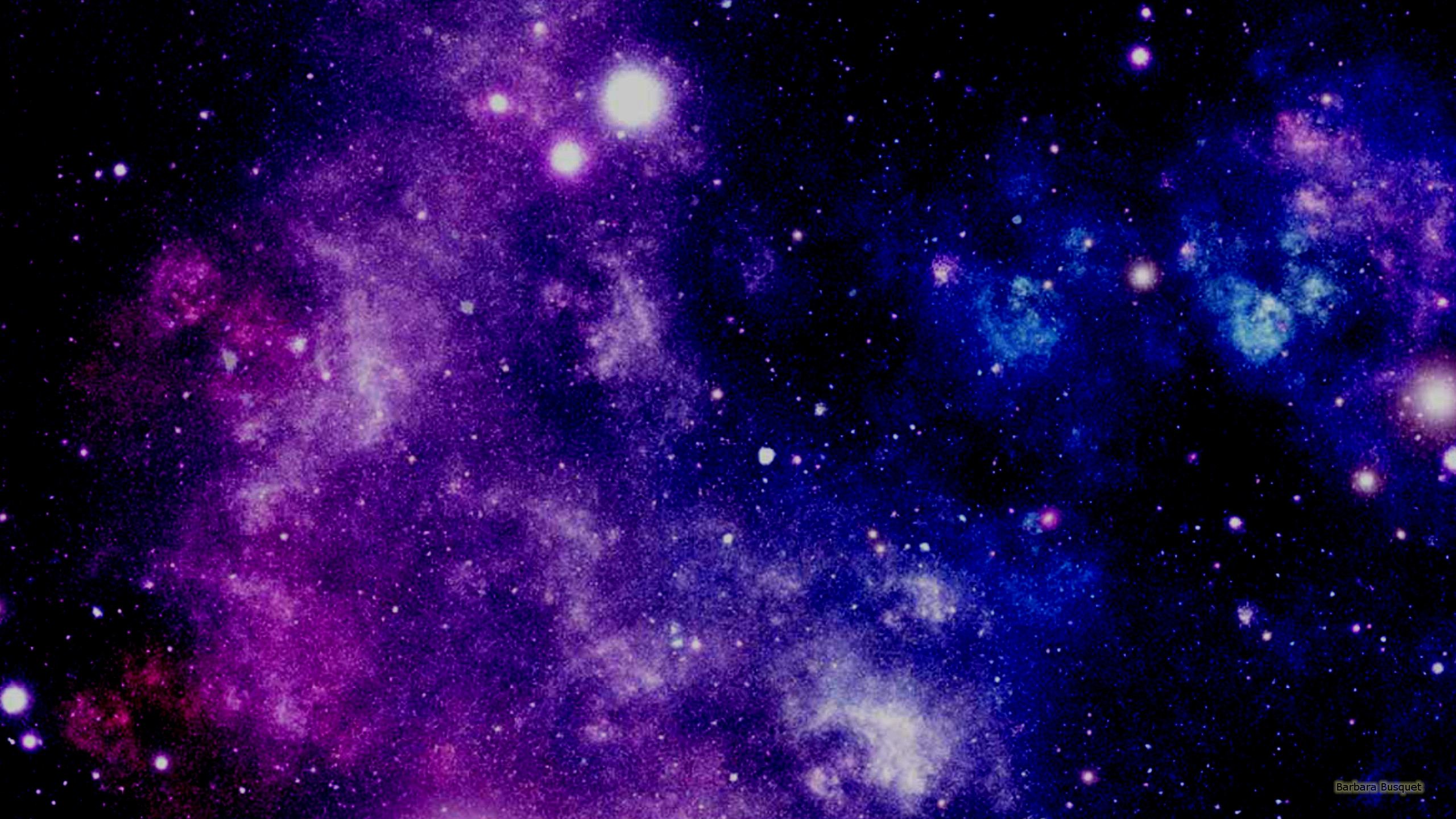 18448 purple and blue galaxy wallpaper 2560x1440