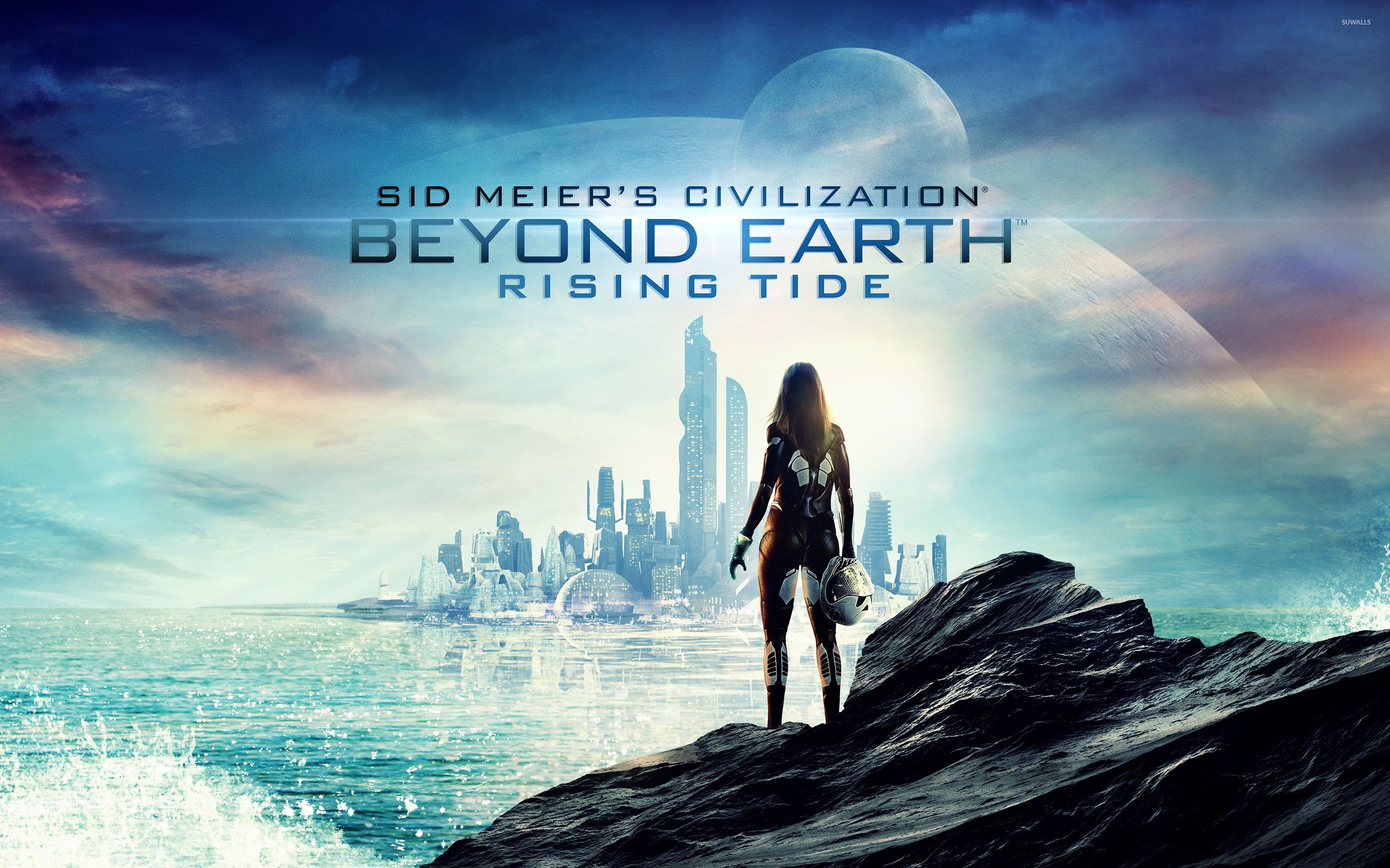 Civilization Beyond Earth   Rising Tide wallpaper   Game 2880x1800