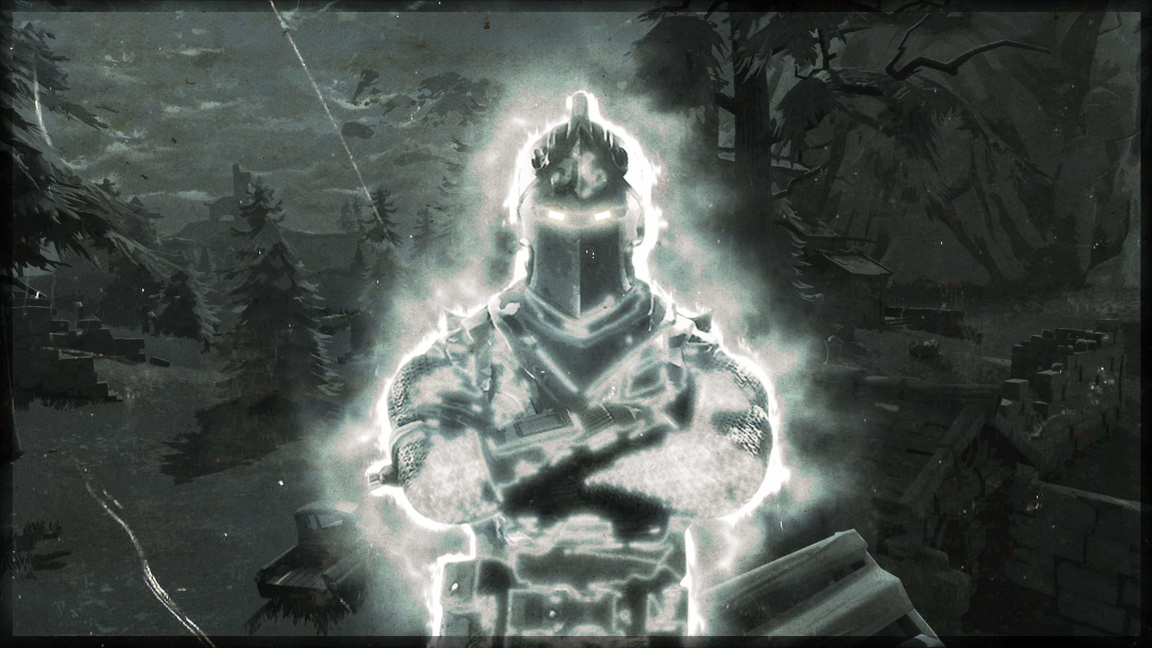 Black Knight 4K 8K HD Fortnite Battle Royale Wallpaper 3840x2160