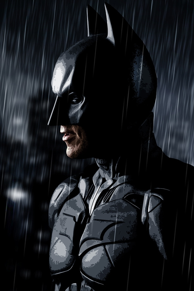 The Dark Knight Batman IPhone HD Wallpaper IPhone HD Wallpaper 640x960