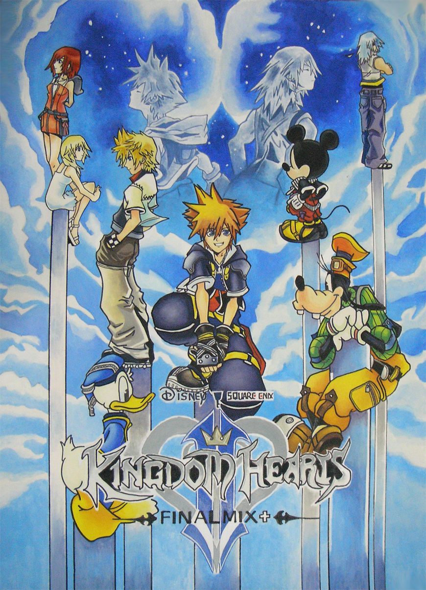 Free Download Kingdom Hearts Final Mix By Sam Bluefunnybear Fan
