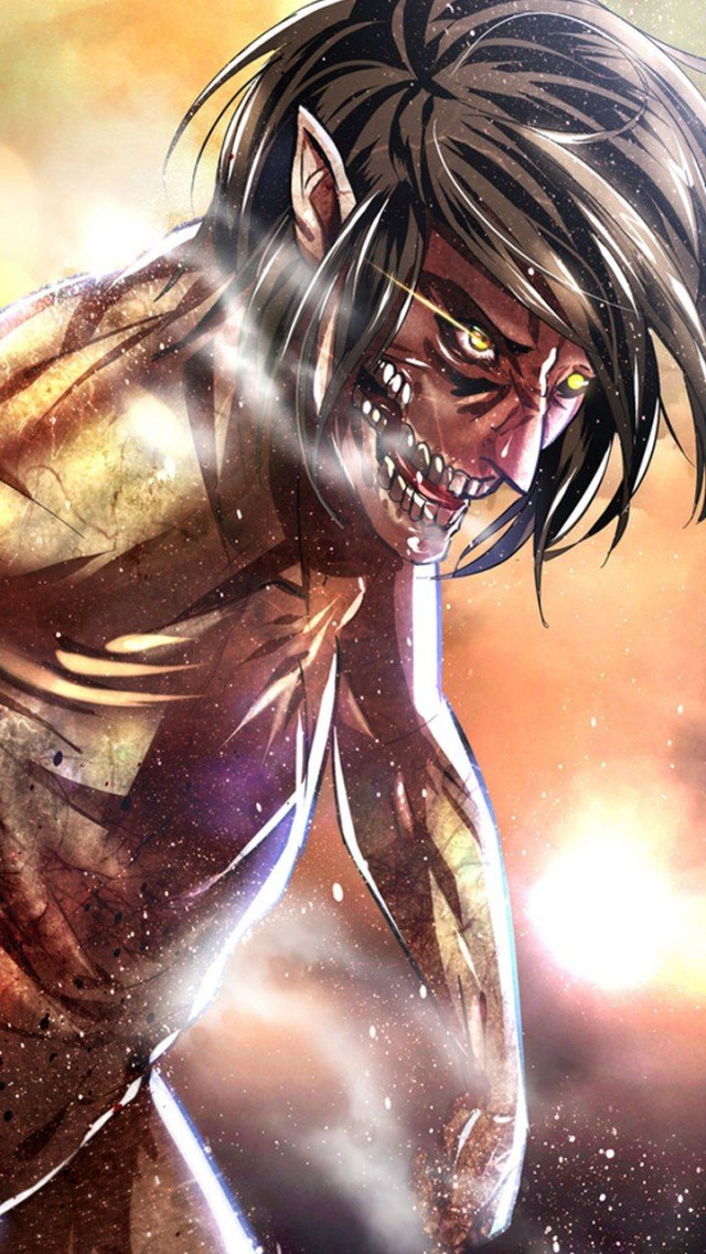 Attack on titan iPhone5Wallpapers1jpg 640x1136