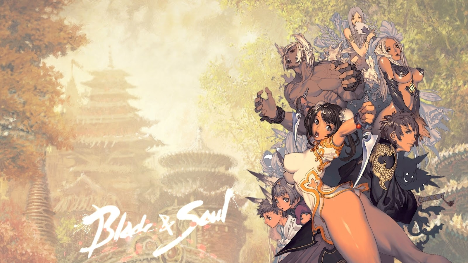 Blade and Soul Wallpapers NickWallpapercom HD Desktop 1600x900