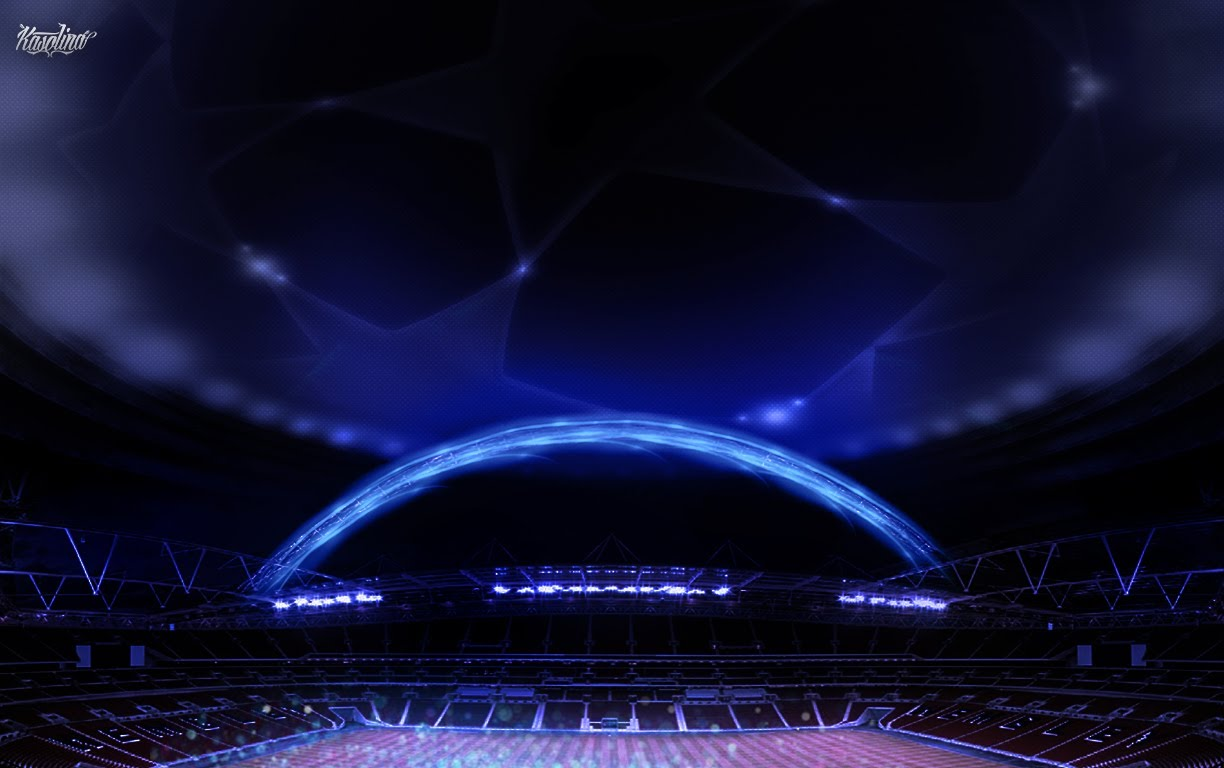 Champions League Wallpaper Speed Art 1224x768