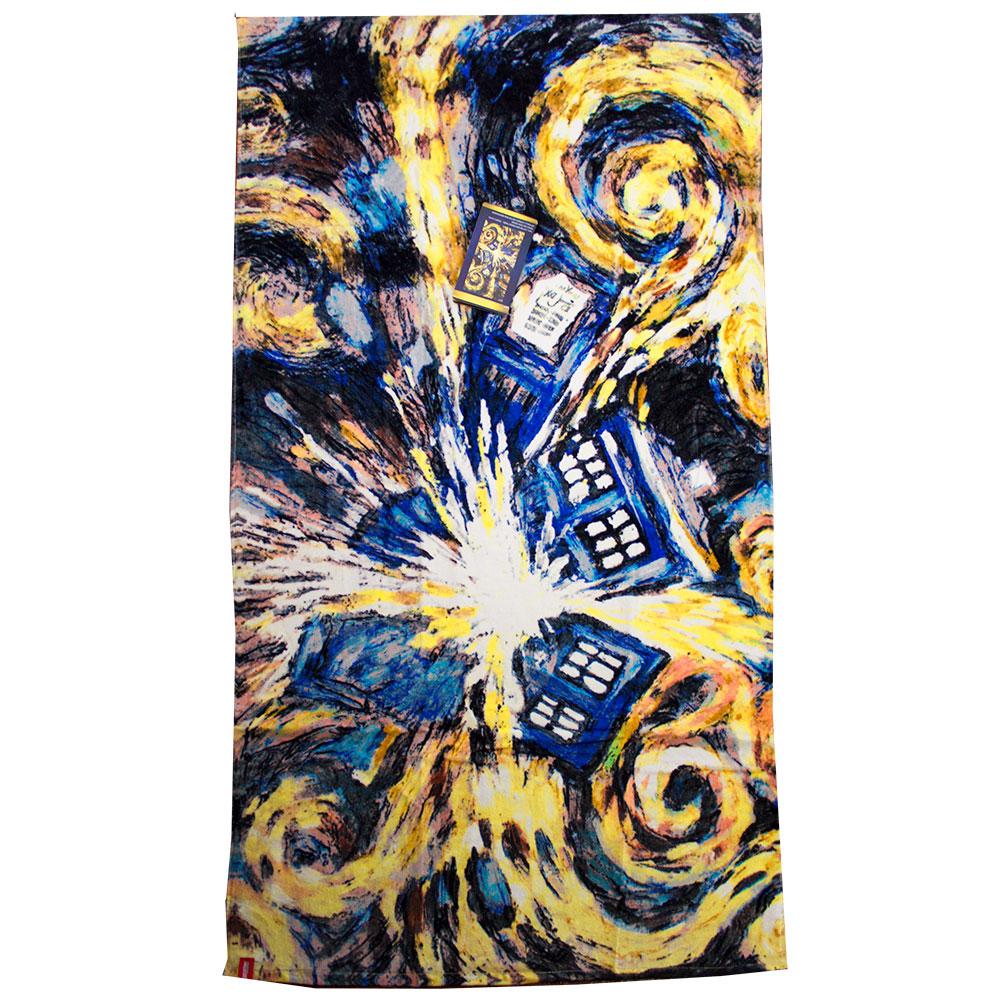 Van Gogh Exploding Tardis Wallpaper Wallpapersafari