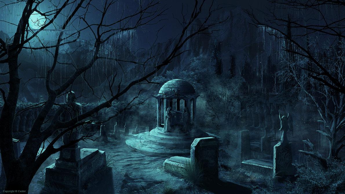 [45+] Creepy Graveyard Wallpaper on WallpaperSafari