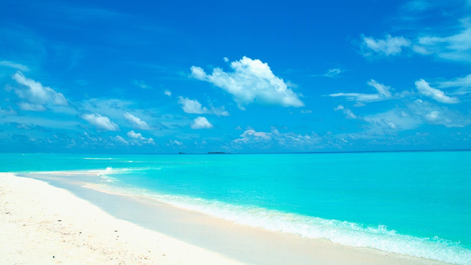 Beautiful Beach Wallpaper 7628 1920x1080