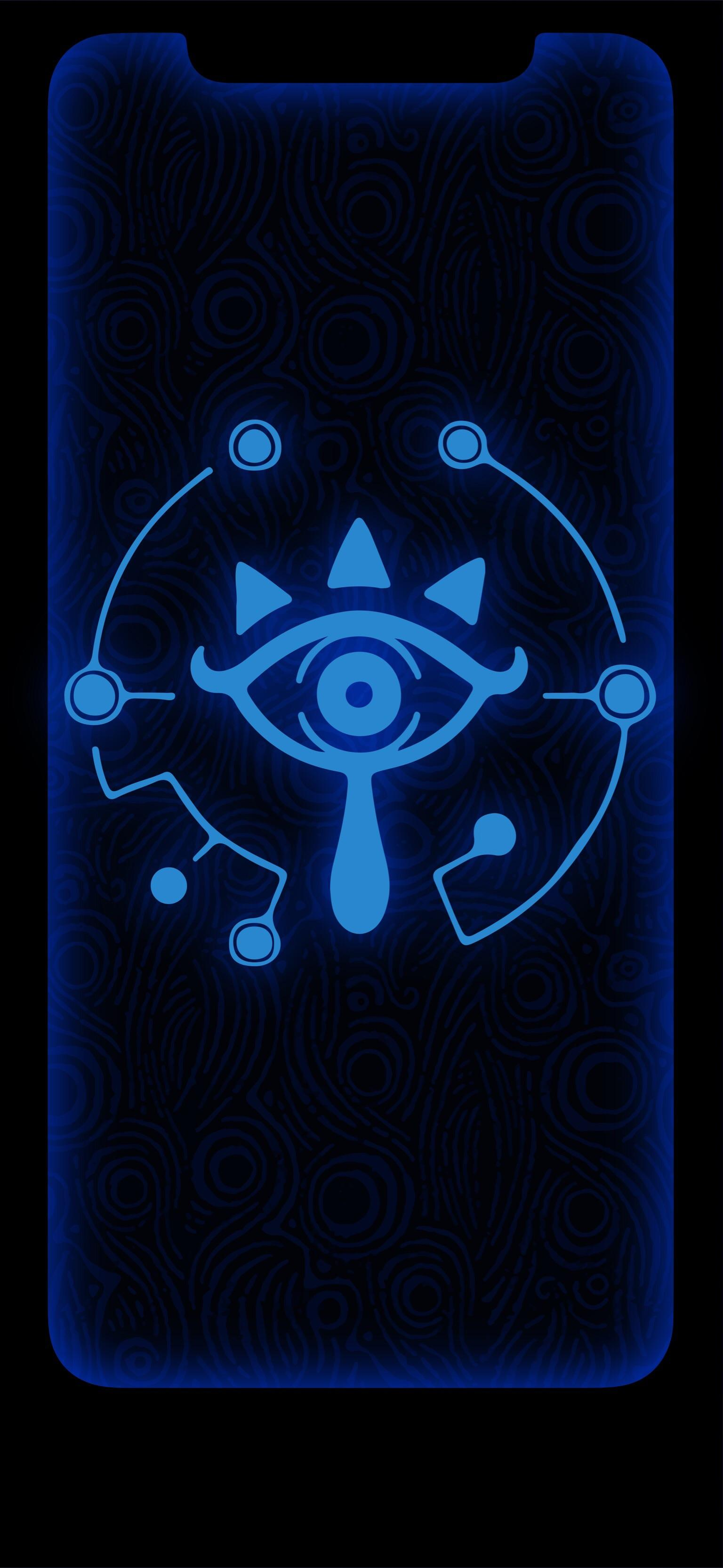 Free Download Made A Sheikah Slate Wallpaper For Iphone X