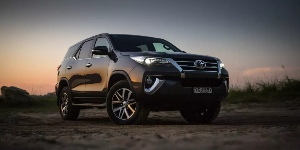 2018 Toyota Fortuner Exterior Wallpaper For iPhone New Car Preview 1000x502