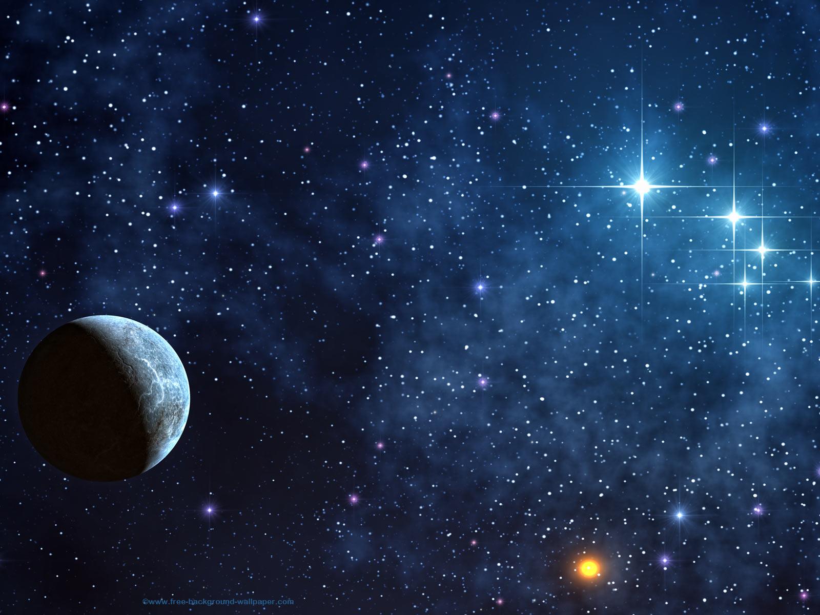 68 Stars In Space Background On Wallpapersafari