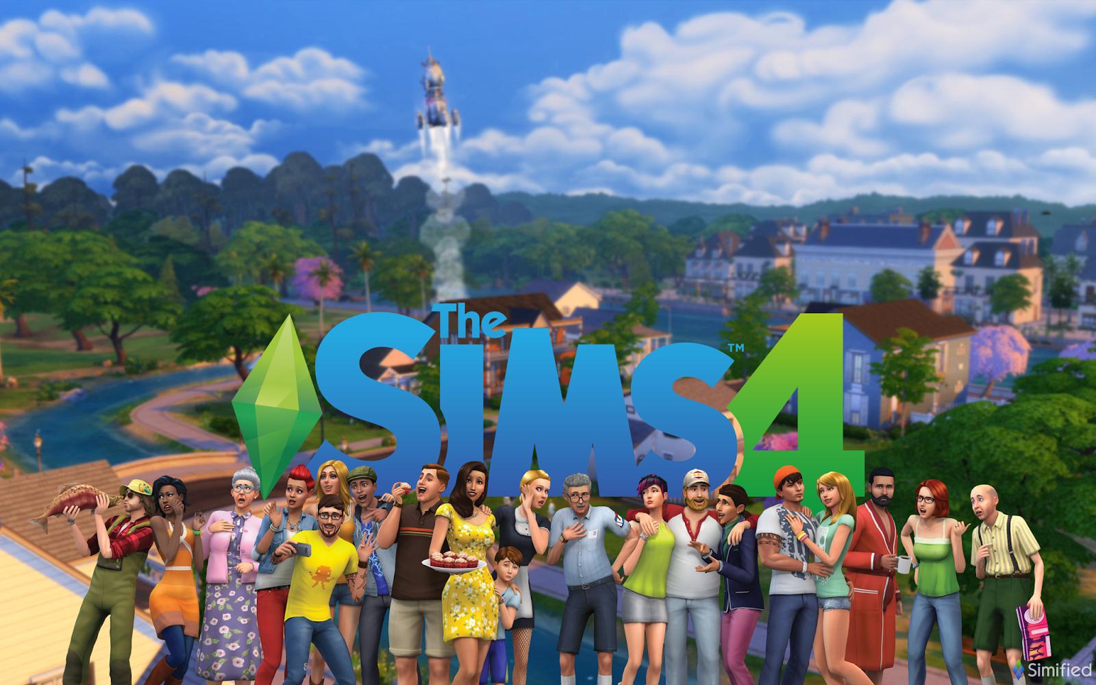 The Sims 4 Wallpaper - WallpaperSafari