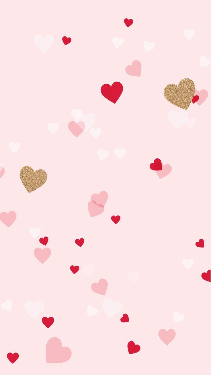 Cute Heart Wallpapers   Top Cute Heart Backgrounds 736x1307