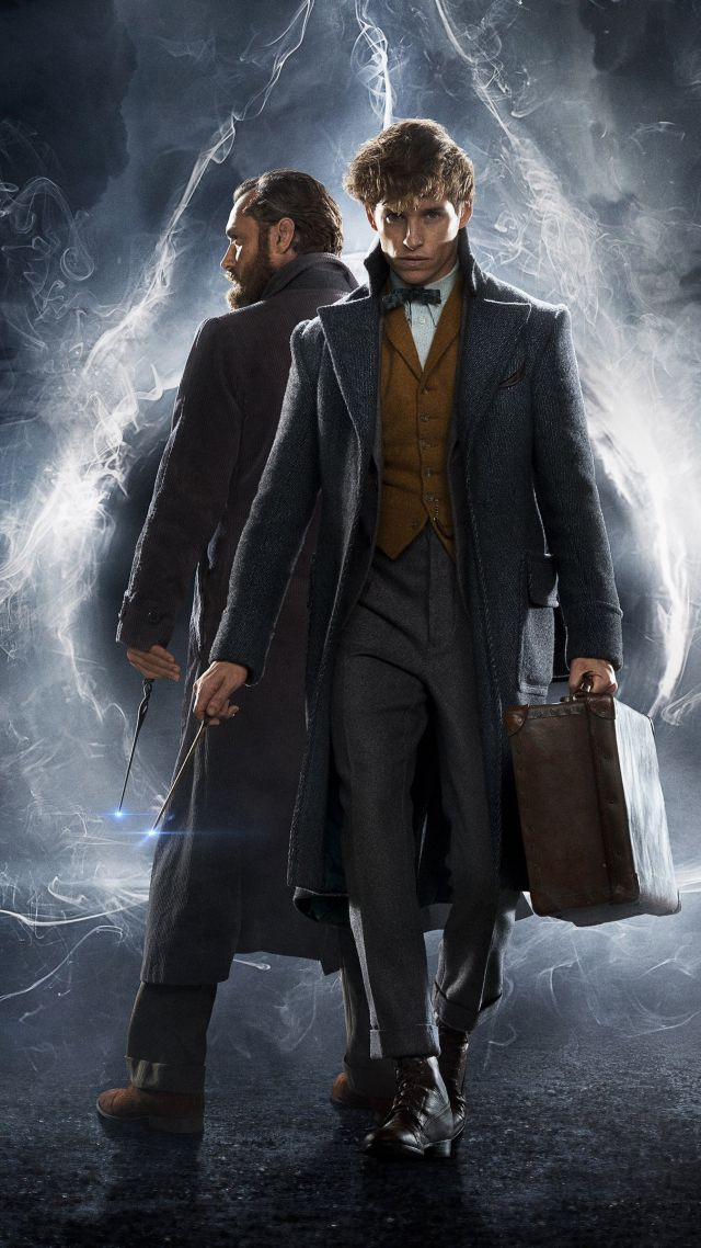 Fantastic Beasts The Crimes Of Grindelwald Wallpapers fantastic 640x1138