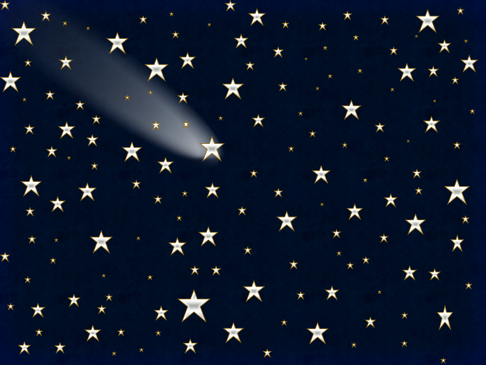 Shooting Star Background 1600x1200