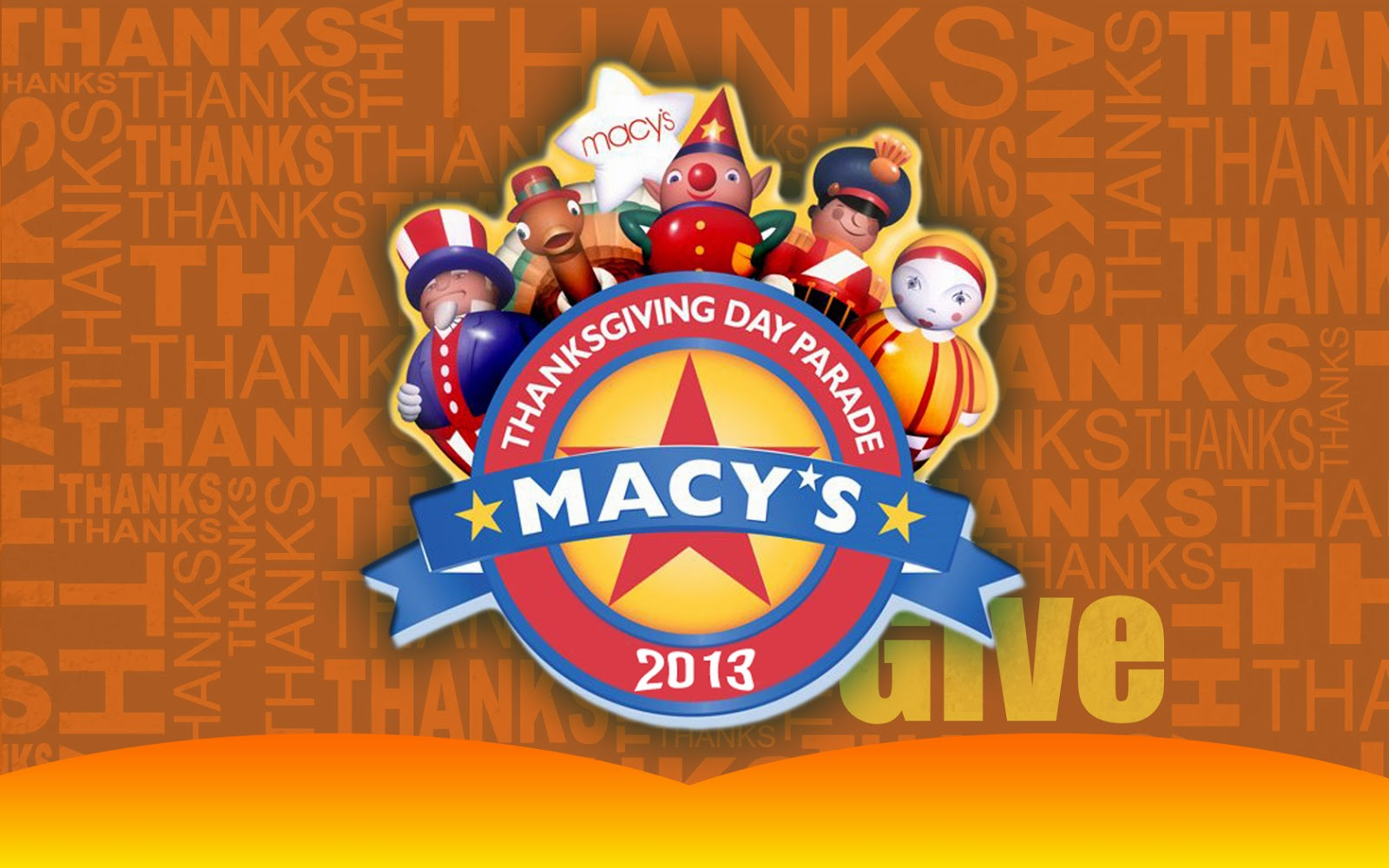 Macys Thanksgiving Day Parade 2013 Thanksgiving Wallpapers 1600x1000
