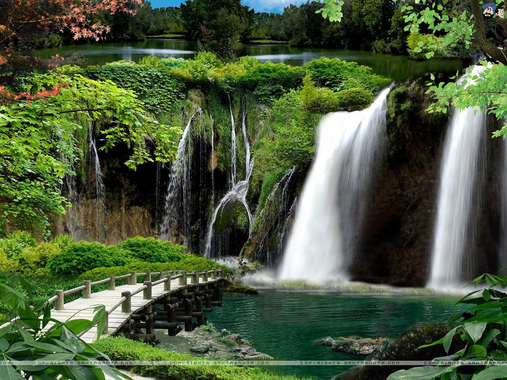 Waterfalls Wallpaper 15 1024x768
