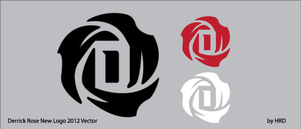 Derrick Rose New Logo Vector by funky23 595x255