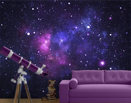 45 Galaxy Mural Wallpaper On Wallpapersafari