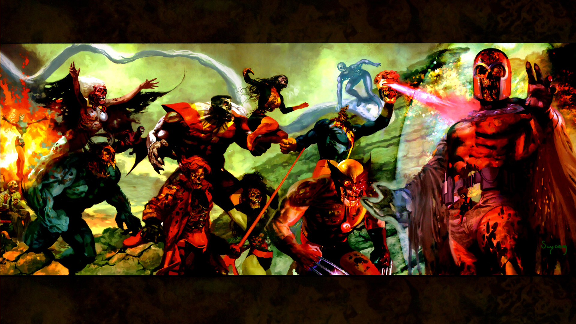 Marvel Zombies Computer Wallpapers Desktop Backgrounds 1920x1080 1920x1080