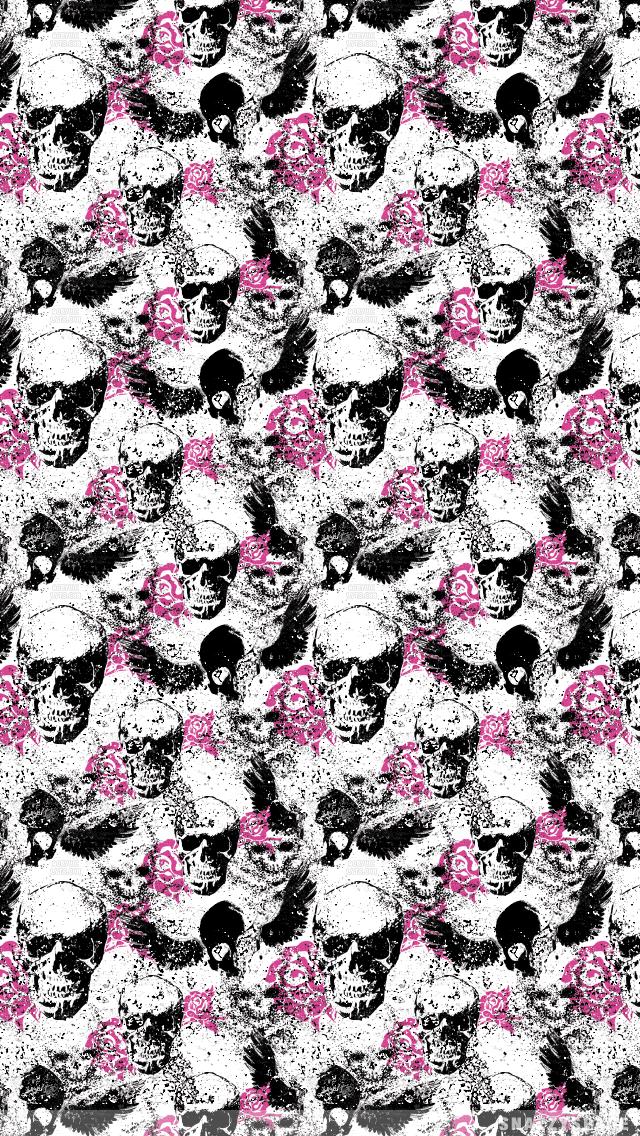 Best 25 Skull Wallpaper Iphone Ideas On Pinterest