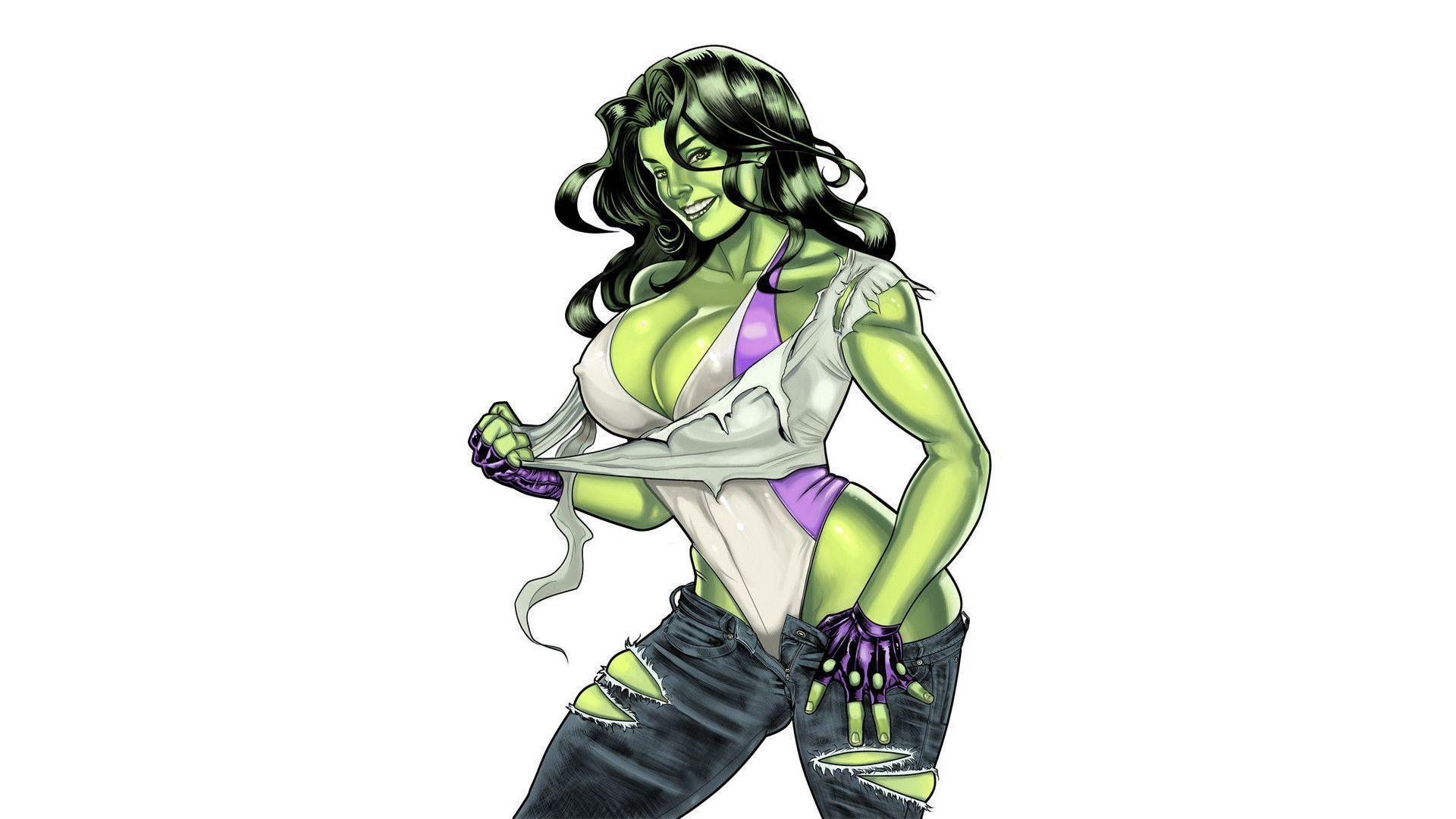 She Hulk Wallpaper Image Group 42 1920x1080