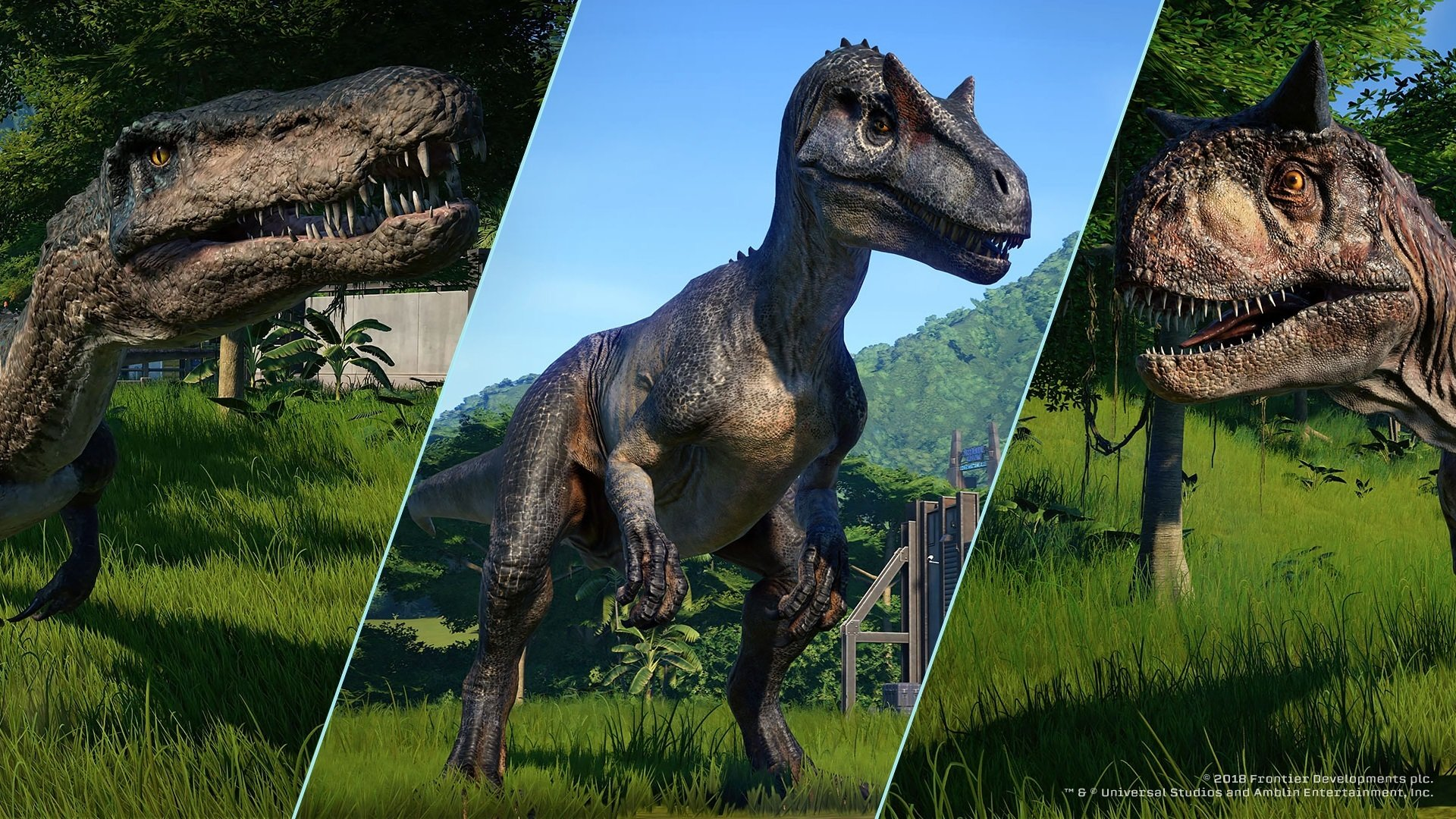Jurassic World Evolution New Tab for Google Chrome Chrome 1920x1080