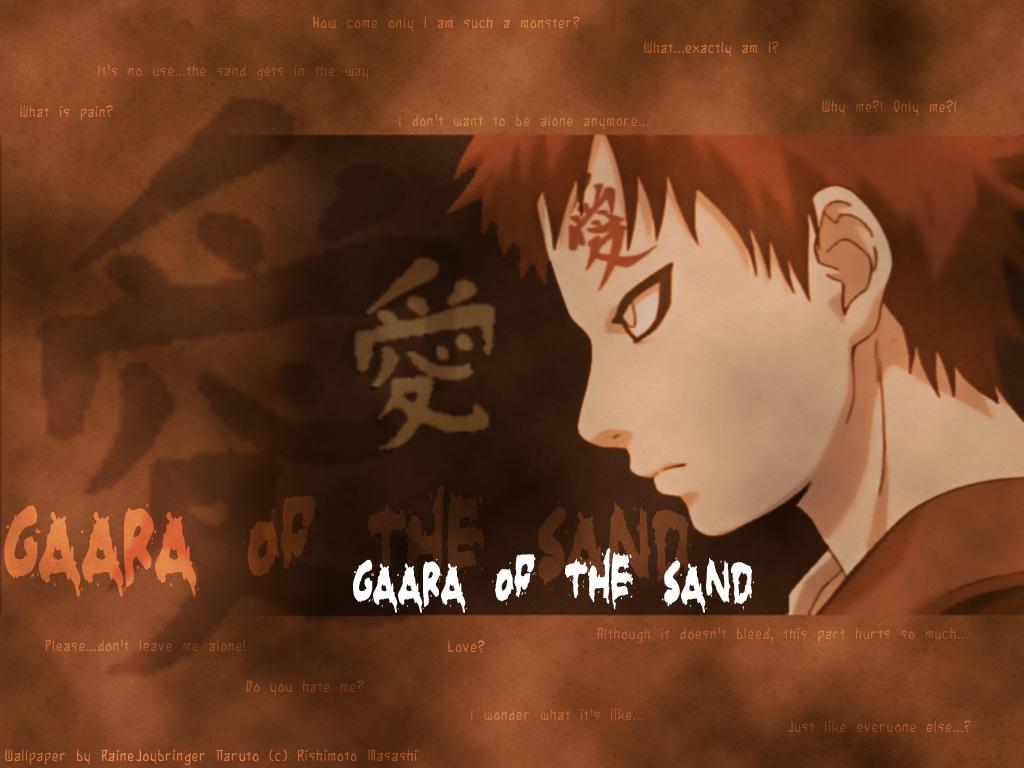 Naruto Shippuden Wallpaper Gaara wallpaper wallpaper hd background 1024x768
