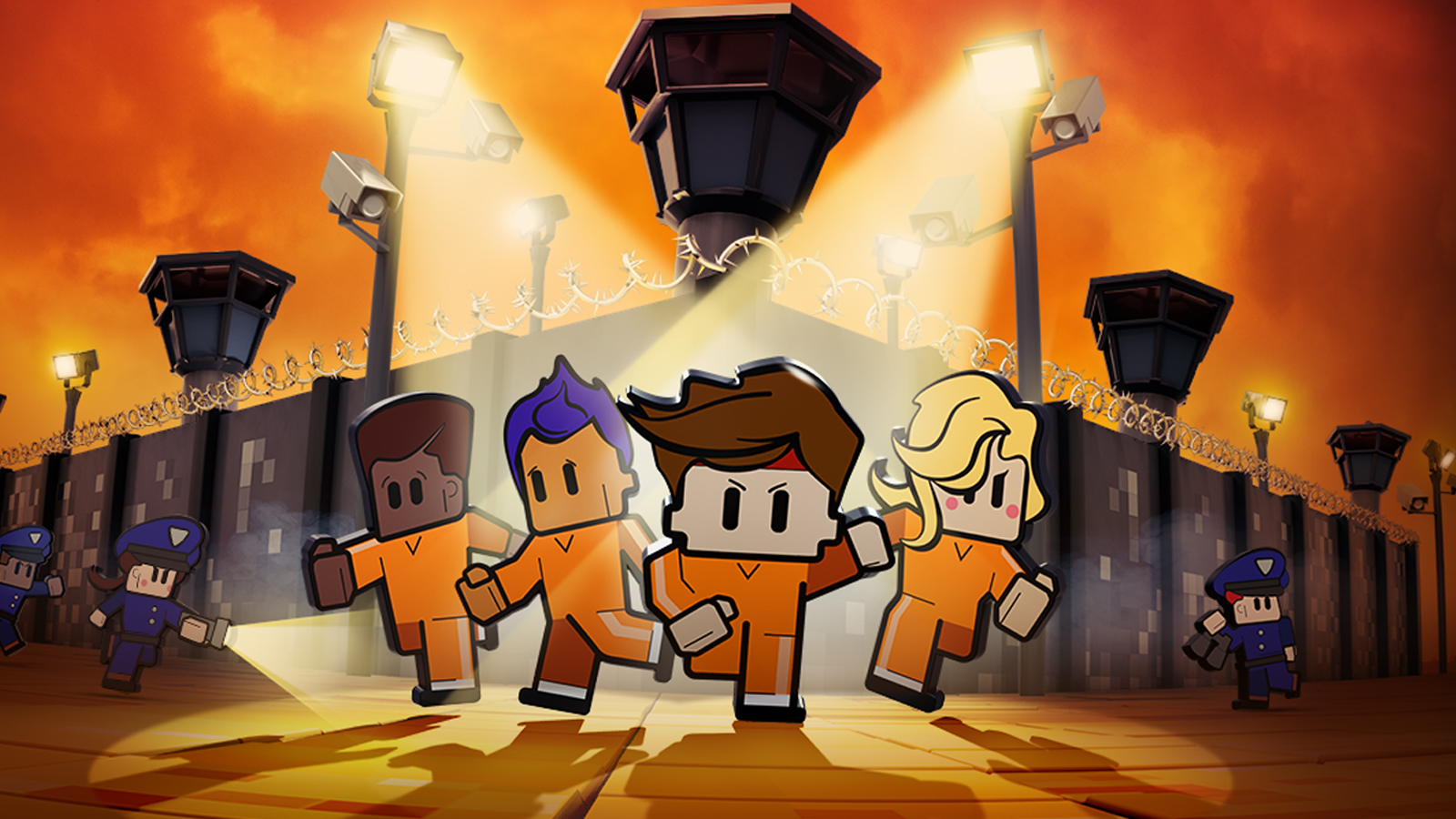 The Escapists 2 Game PS4   PlayStation 1600x900