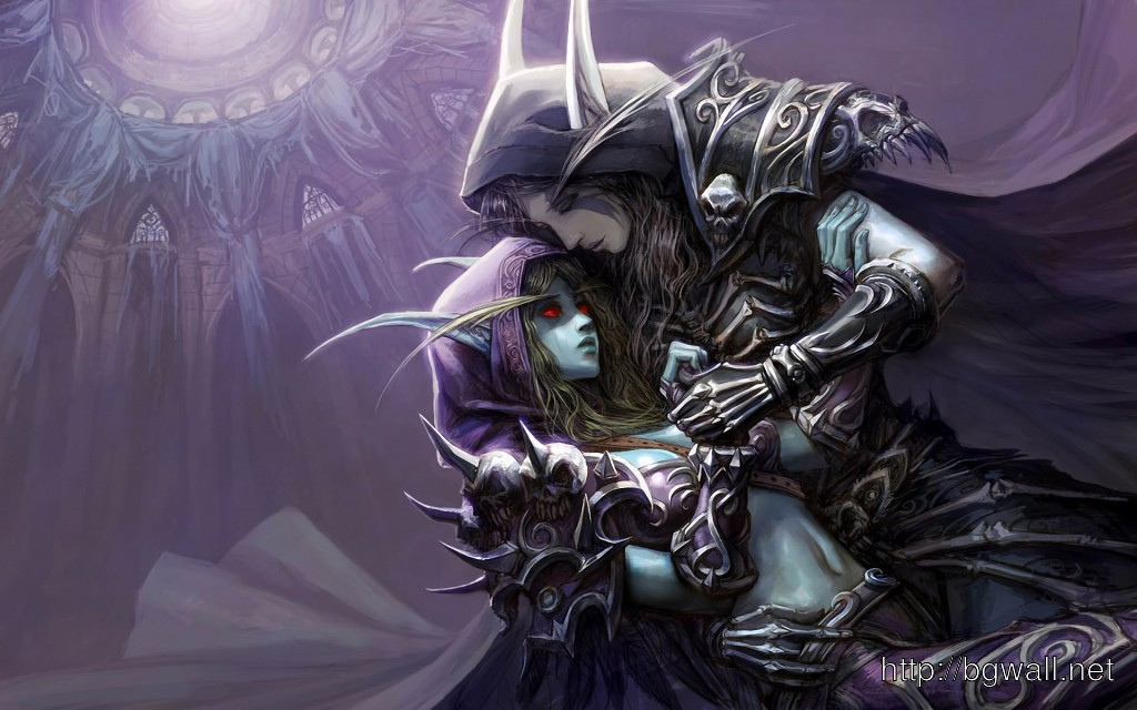 Free download Warcraft Dark Lady Elf Wallpaper High