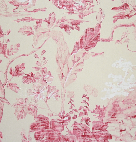 aesop s fables wallpaper toile de jouy wallpapers 54 00 per 534x559