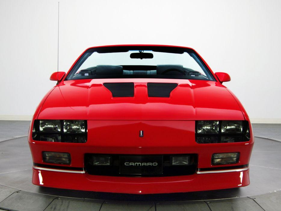 1988aei90 Chevrolet Camaro IROC Z Convertible muscle iroc 934x700