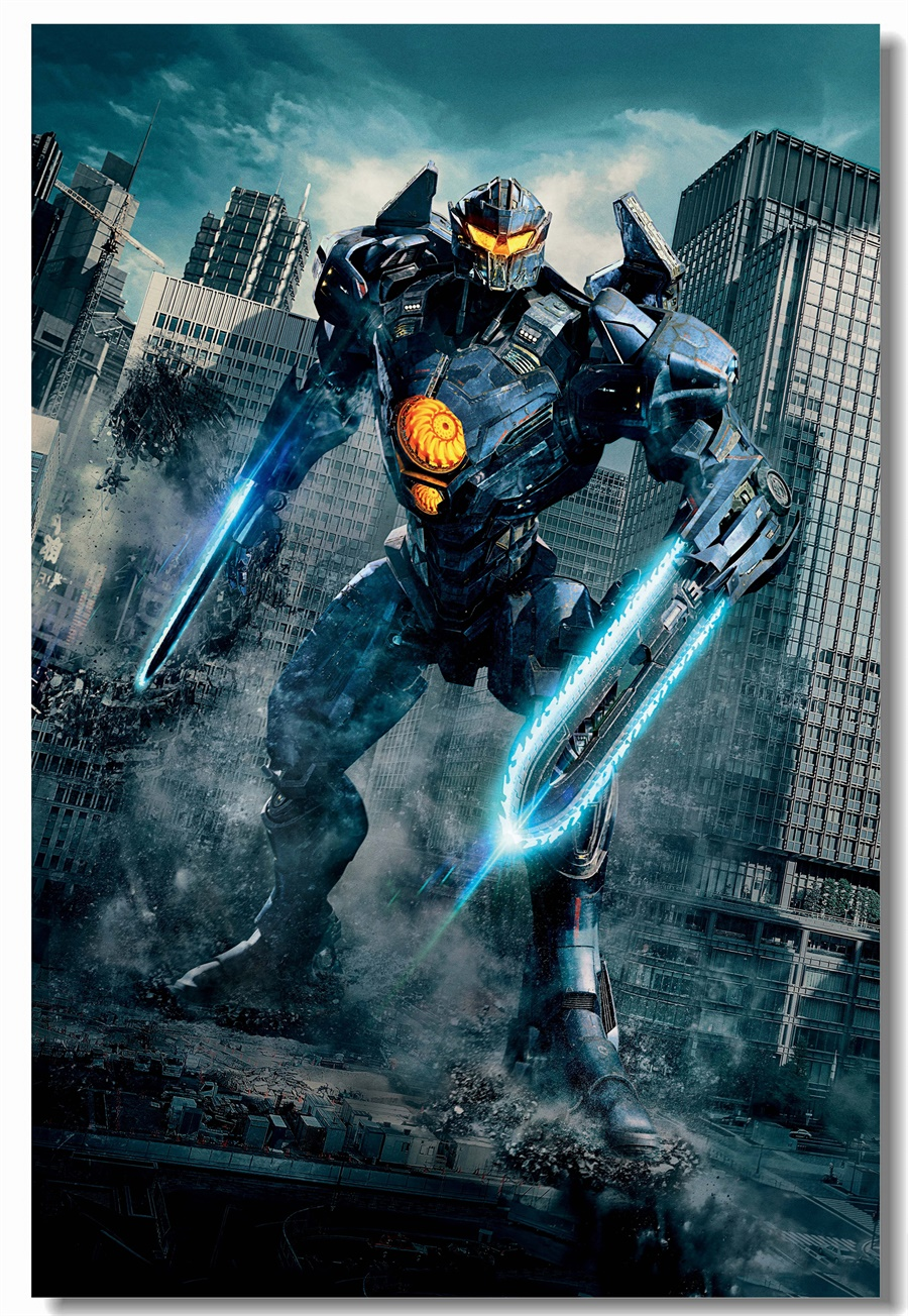 Custom Canvas Wall Decor Pacific Rim Poster Pacific Rim Uprising 900x1304