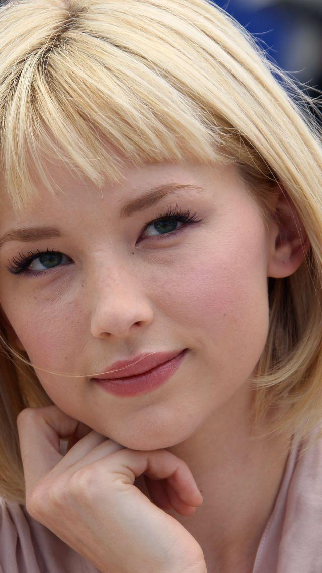 Wallpaper Haley Bennett actress blonde Celebrities 12798 640x1138