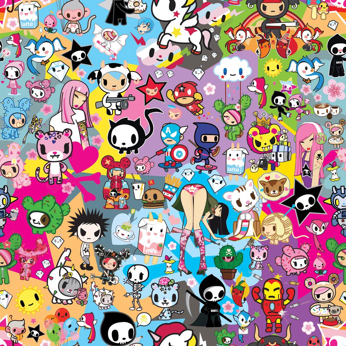 Best 58 Harajuku Desktop Backgrounds on HipWallpaper Harajuku 1100x1100