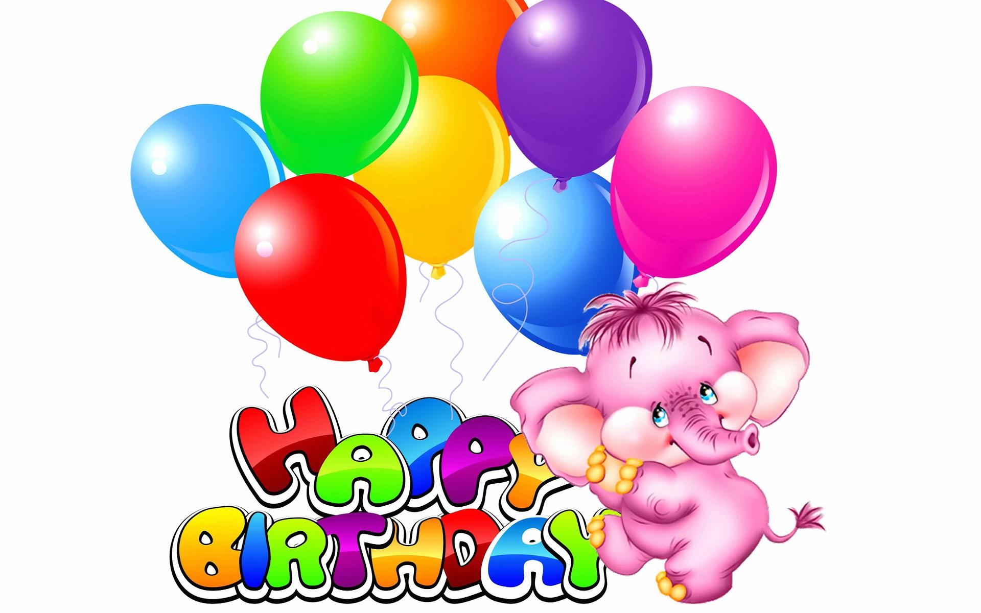 Happy birthday animated design HD Wallpapers Rocks 1920x1200