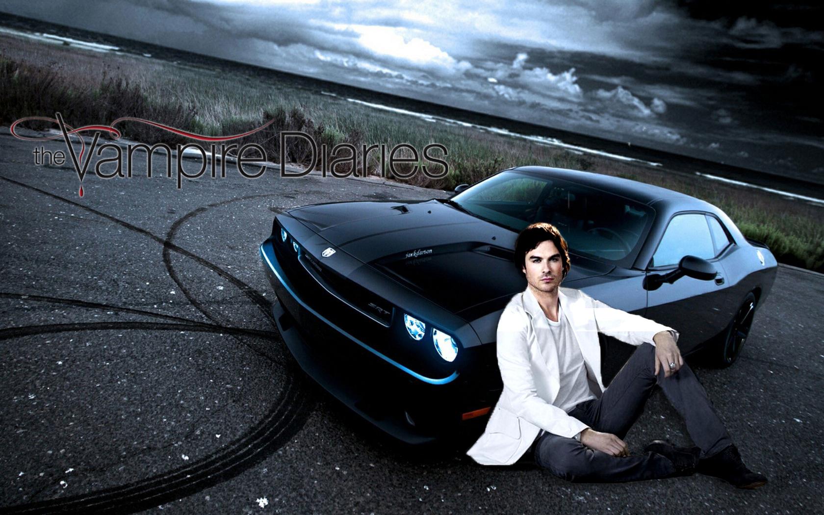 Damon   The Vampire Diaries Wallpaper 30734371 1680x1050