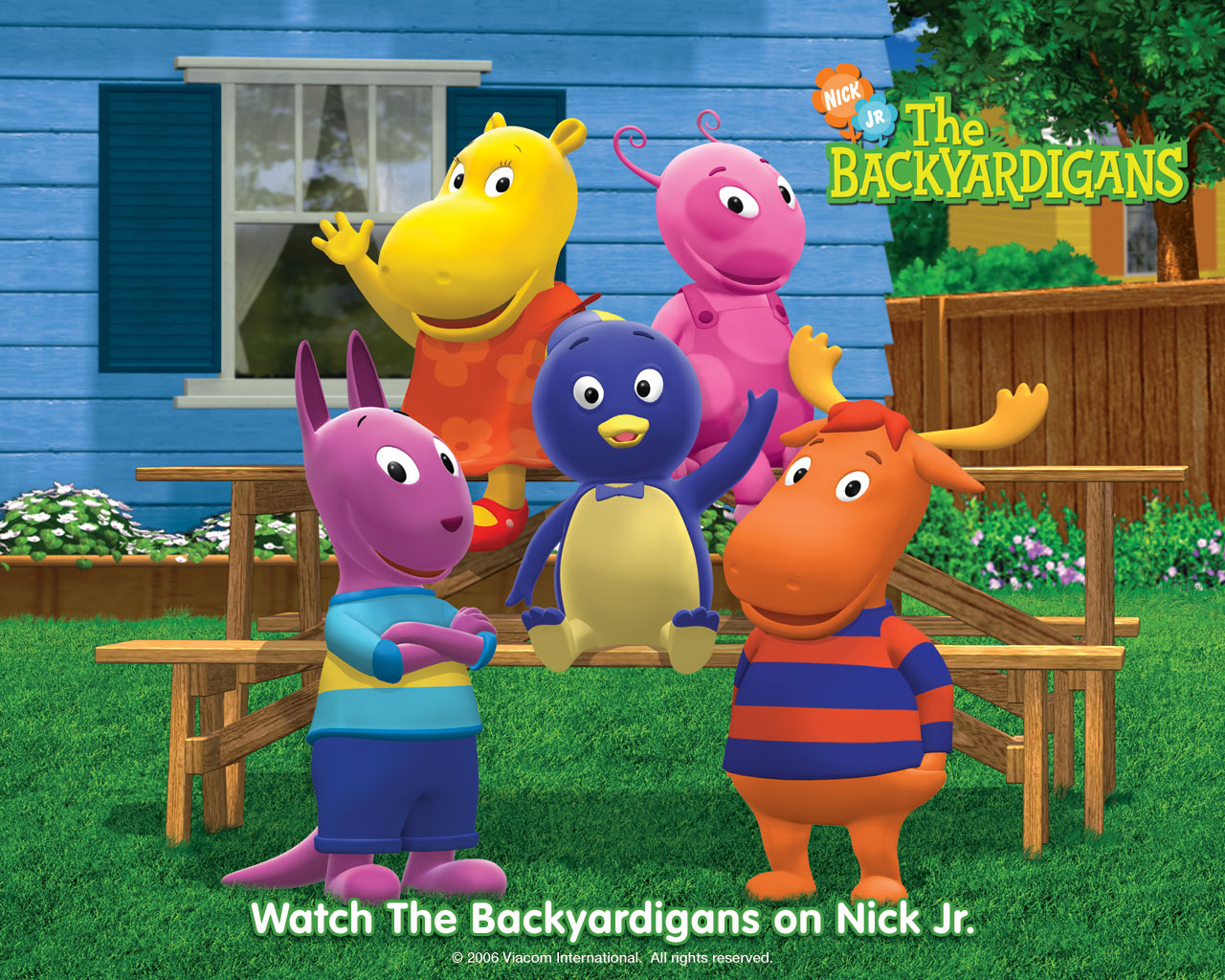 The Backyardigans Wallpaper and Background Image 1280x1024 ID 1280x1024