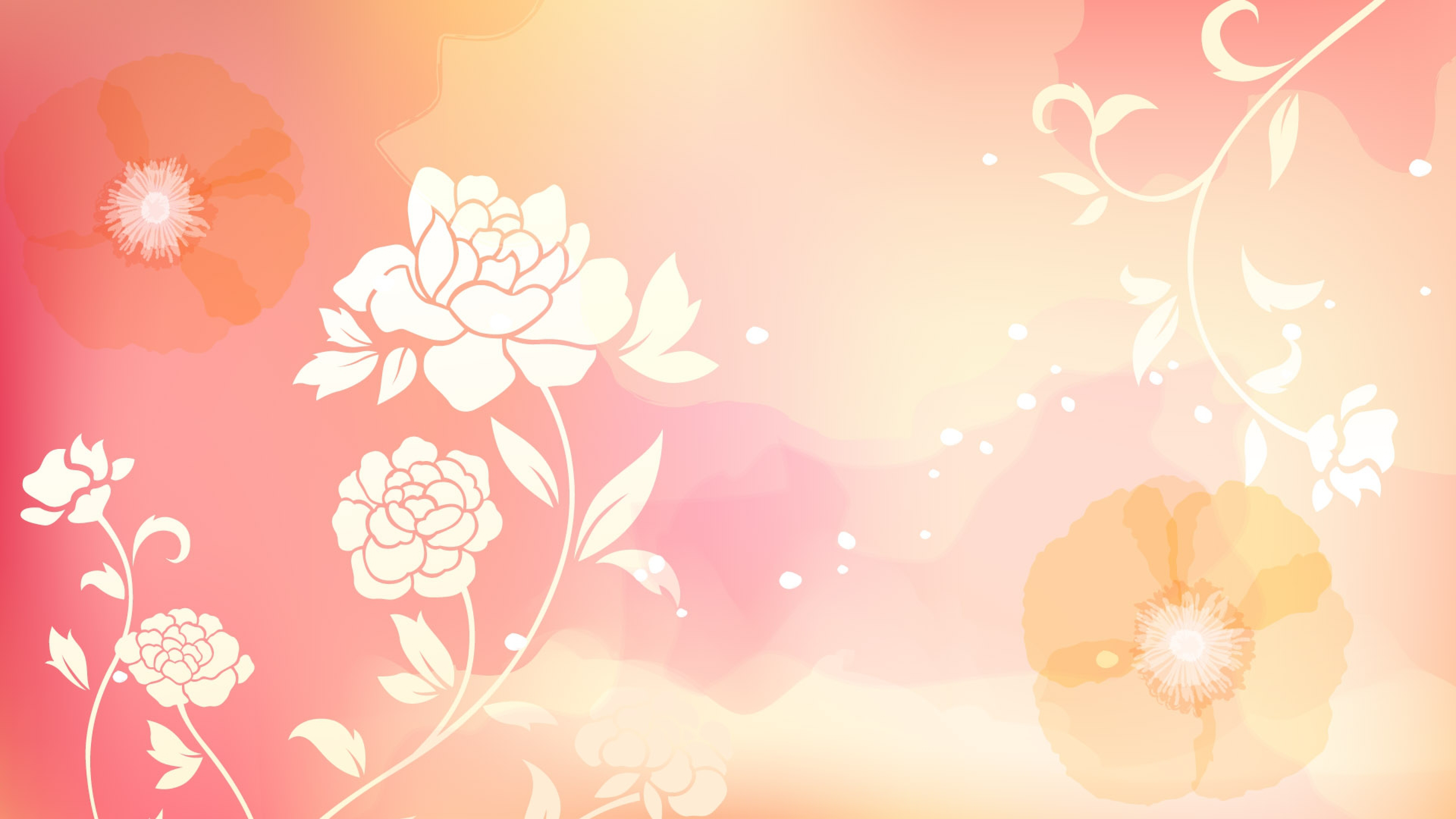 Free Download 38402152160 Flowers Background Photos 3840x2160